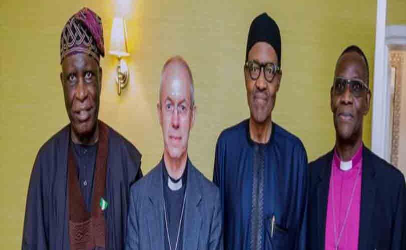 Buhari meets Archbishop of Canterbury