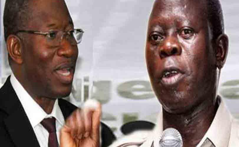 Oshiomhole Gives Reasons Jonathan Should Be Docked