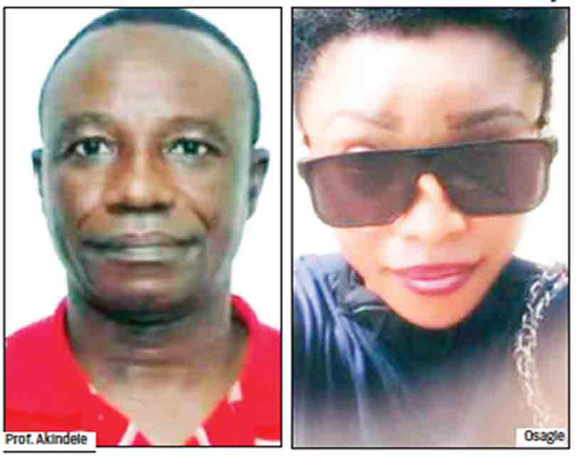 Student to panel: Prof Akindele failed me because of sexual advances