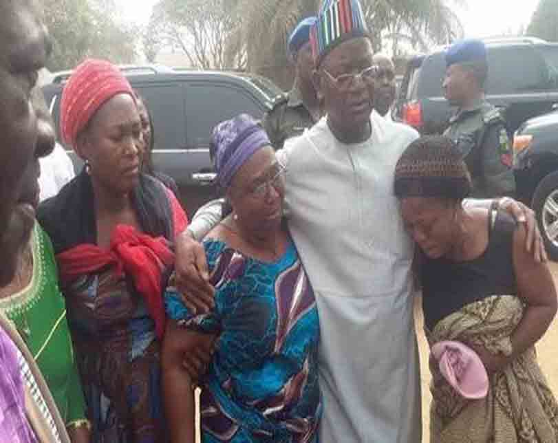 Go home & defend yourselves against killers with stones, Gov. Ortom tells Benue IDPs