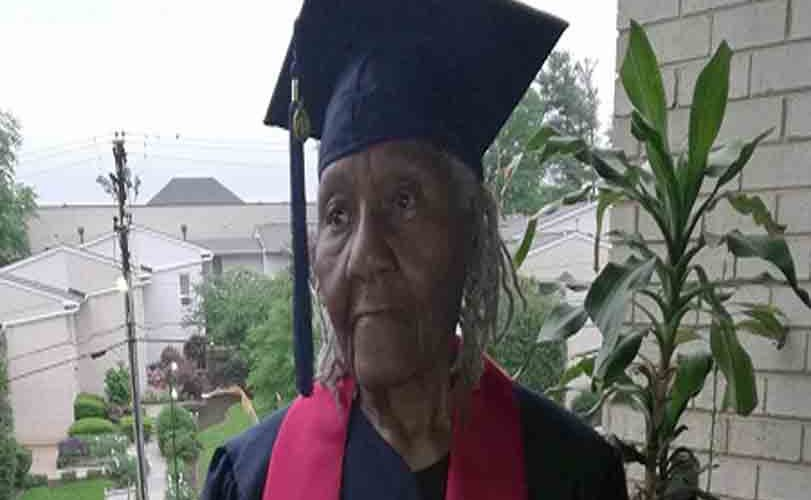 89-Year-Old Woman With 12 Children Graduates From University
