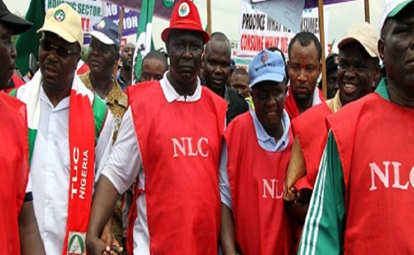 PHOTOS: NLC protests in Lagos over minimum wage