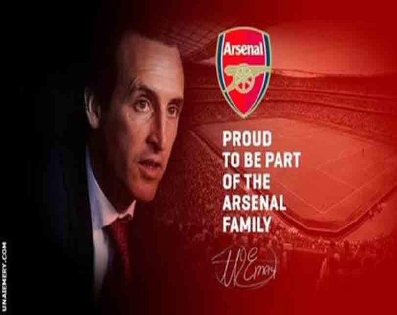 Arsenal Opens Up On Why Unai Emery Was Appointed As Wenger's Replacement