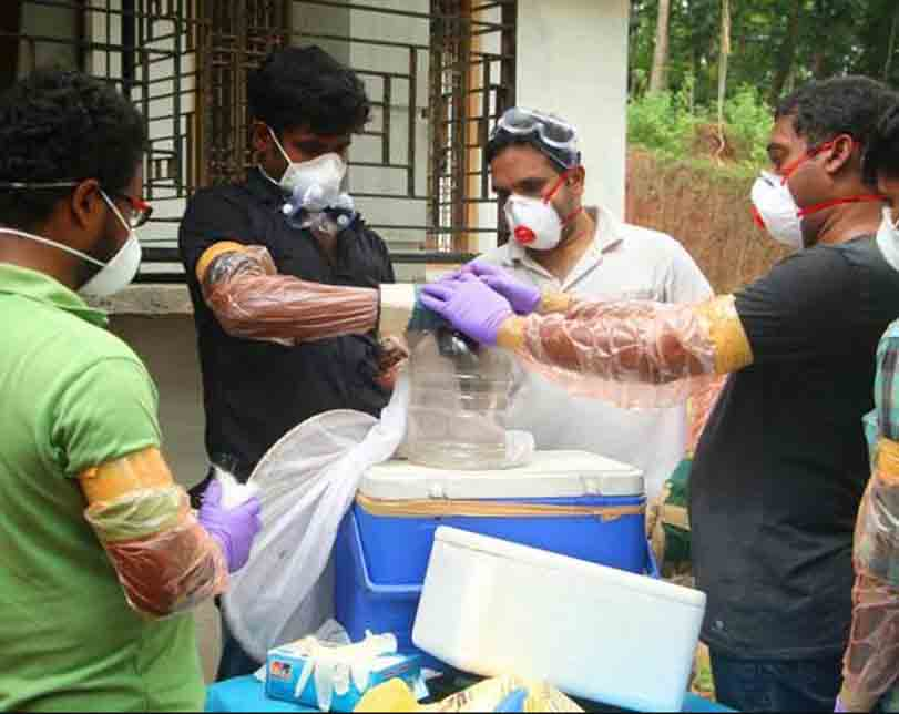 A rare virus without a cure has emerged in India and it's killing people