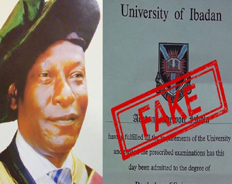 Photo: Polytechnic Rector Arrested In Osun For Allegedly Forging PhD Certificate