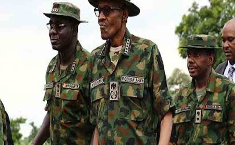 President Buhari Arrives Borno State For Nigerian Army Day Celebrations