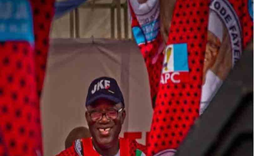 INEC Declares Fayemi of APC winner Of Ekiti Election