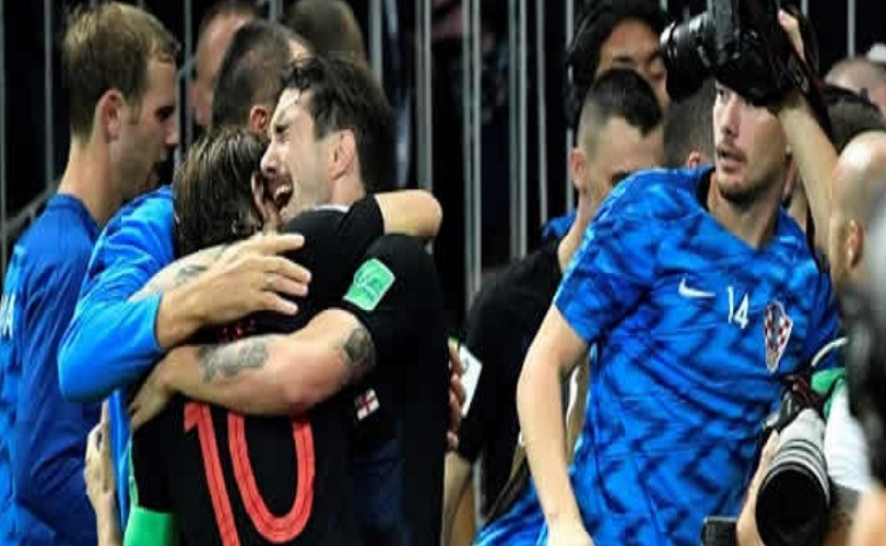 Croatia beat England 2-1 to reach World Cup final