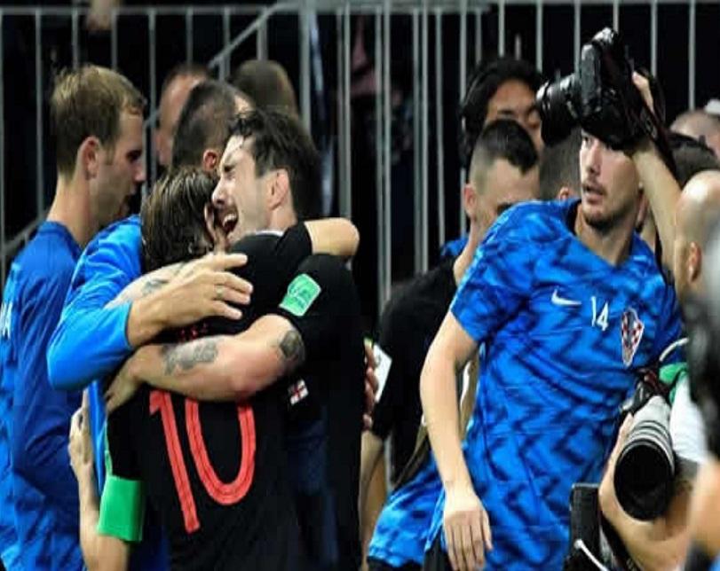 Croatia beat England 2-1 to reach World Cup final