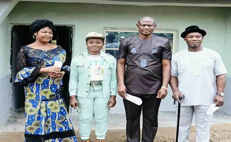 Kaduna Confers Chieftaincy Title On NYSC Member Who Built A Lodge For Community