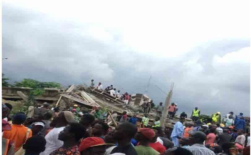 10 Trapped As Building Collapses  In Abuja (Photos)