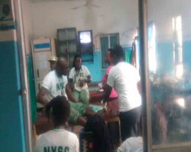 Photos: Ogun NYSC coordinator, others felicitate corpers saved from gory accident