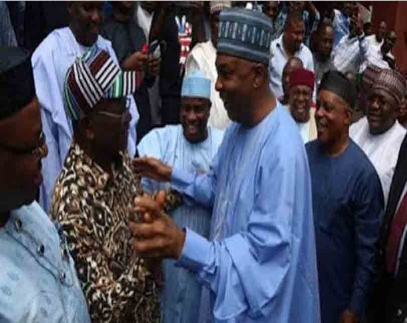 Saraki, Ortom, Kwankwaso, Others At PDP NEC(Photos)