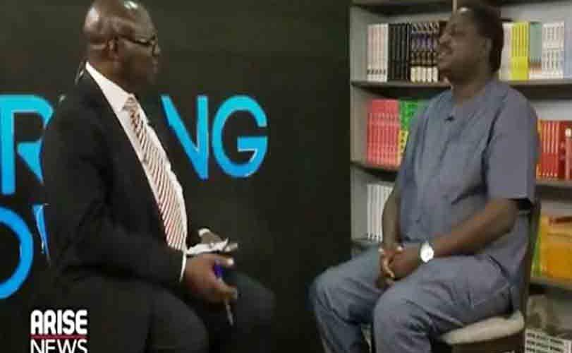 Jonathan's Ex-Aide, Reuben Abati Tackles Buhari's Aide, Femi Adesina On Live TV
