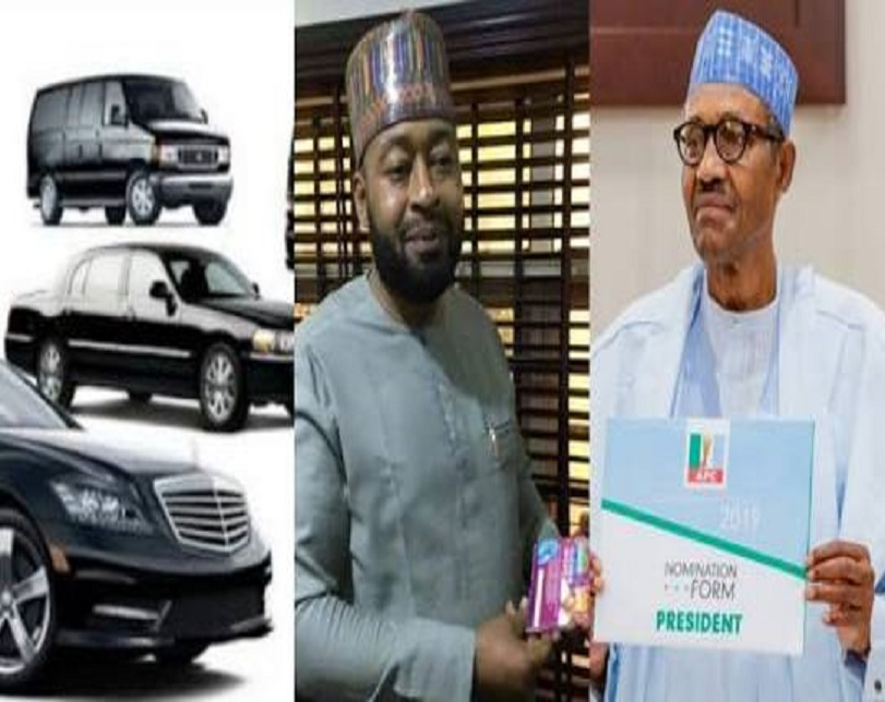 Meet Politician Supporting Buhari's Re-Election With 100 Cars