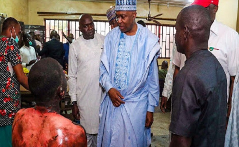 Update On Nasarawa Deadly Gas Explosion: Scores feared dead, Saraki visits survivors