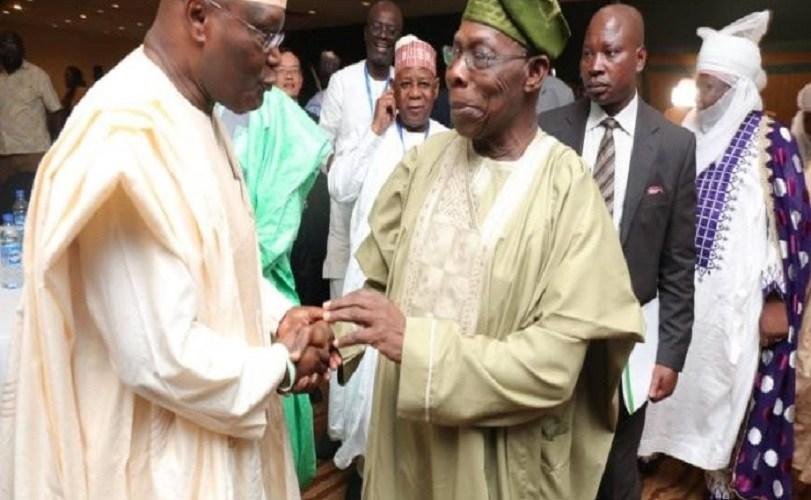Atiku Storms Abeokuta, Goes Into Closed-Door Meeting With Obasanjo
