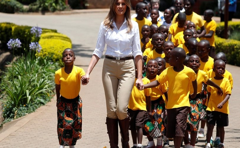 PHOTOS: Melania Trump's visit to Africa