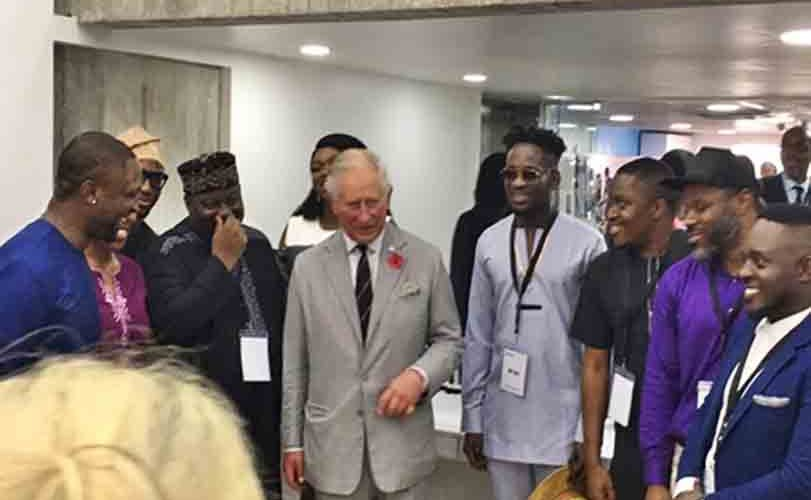 How You Dey? – Prince Charles Speaks 'Pidgin' As He Hangs Out With Celebrities In Lagos (Photos)