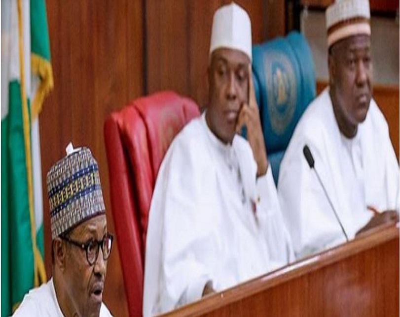 Budget drama: Buhari whisked away, Saraki, Dogara abort speeches