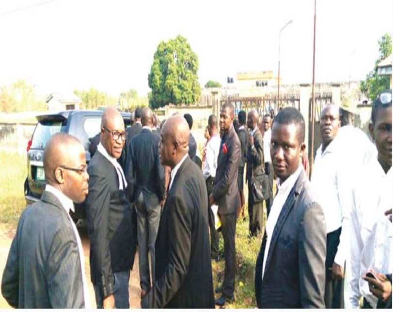 Lawyers protest killing of colleague in Ekiti