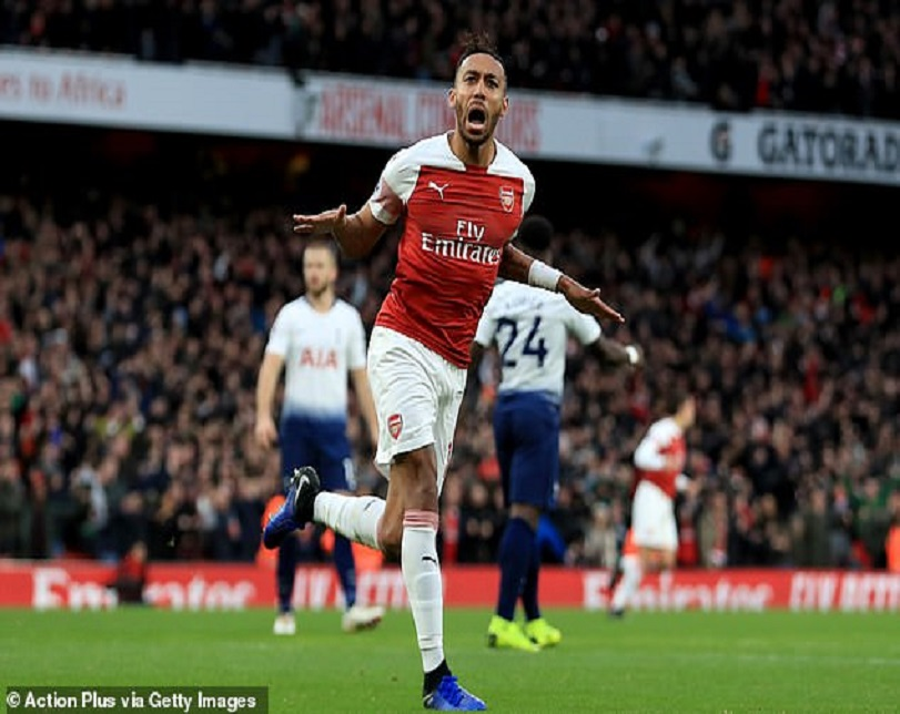 Chelsea Legend, Drogba Reacts After Arsenal Star 'Borrowed' His Trademark Goal Celebration (Photos)
