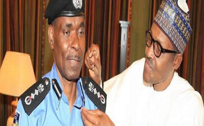 Bhari appoints, decorates new Police IG Mohammad Abubakar Adamu
