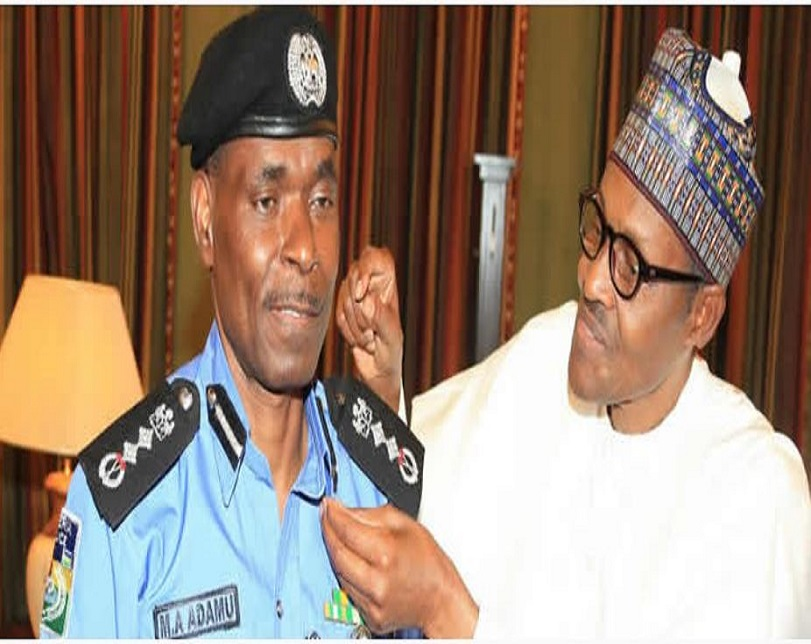 Bhari appoints, decorates new Police IG Mohammad Abubakar Adamu