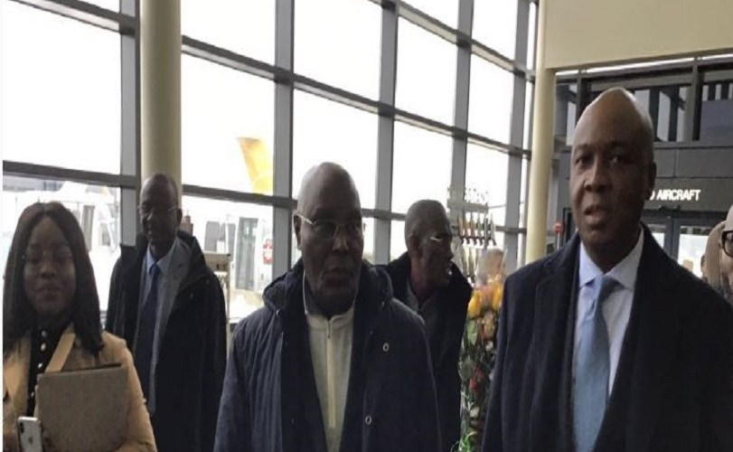Atiku didn't travel to US as my aide- Saraki