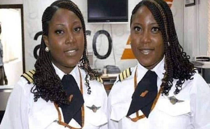 Meet Beautiful Sisters Who Are Nigeria's First Twin Female Pilots