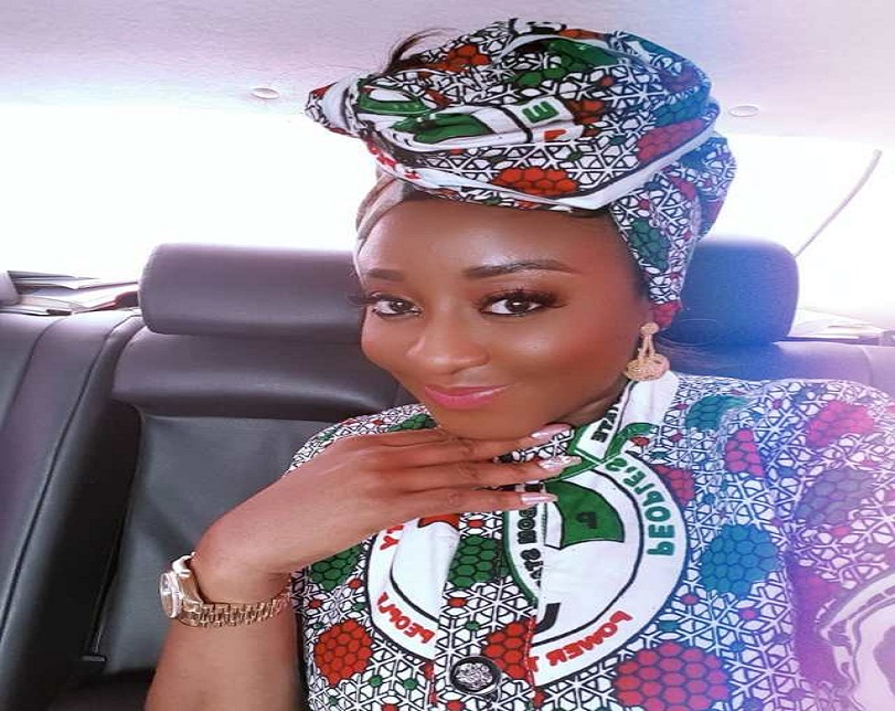 2019 Elections: Ini Edo Declares Support For PDP In Sweet Style (Photos)