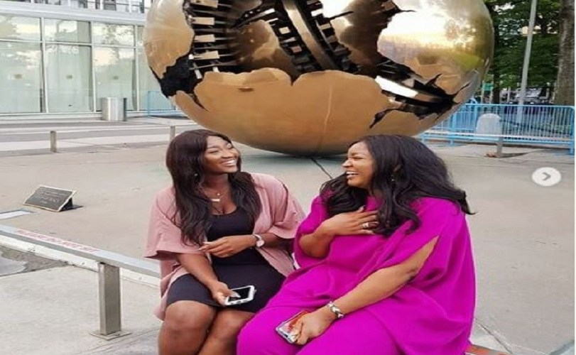 Omotola Jalade-Ekeinde & Daughter, Meraiah, Celebrate Their 41st & 19th Respective Birthdays