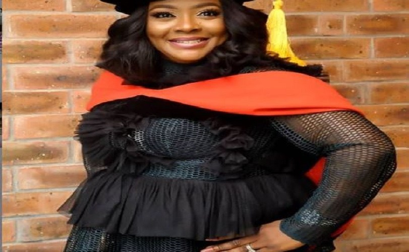 Comedienne, Helen Paul Bags a Ph.D From UNILAG