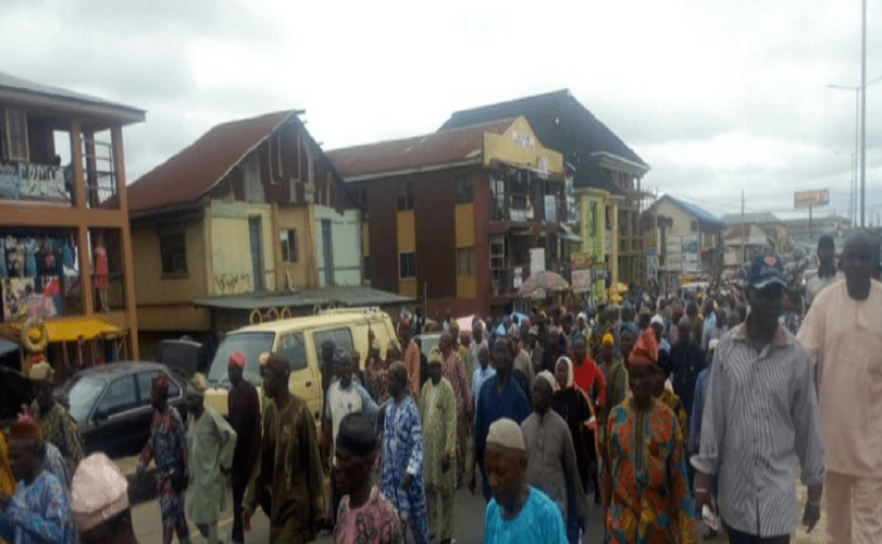 Retirees protest 15 months unpaid pension in Osun