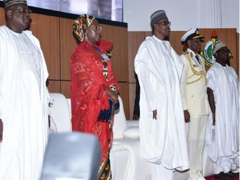 Buhari attends NDC graduation in Abuja