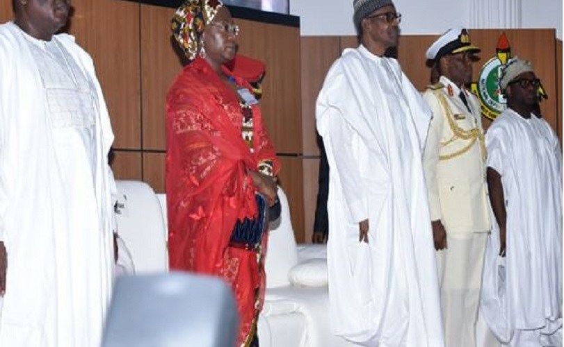 Buhari attends NDC graduation in Abuja