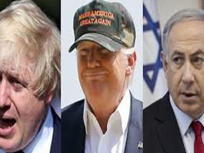 Three Blind Mice: Johnson, Trump and Netanyahu