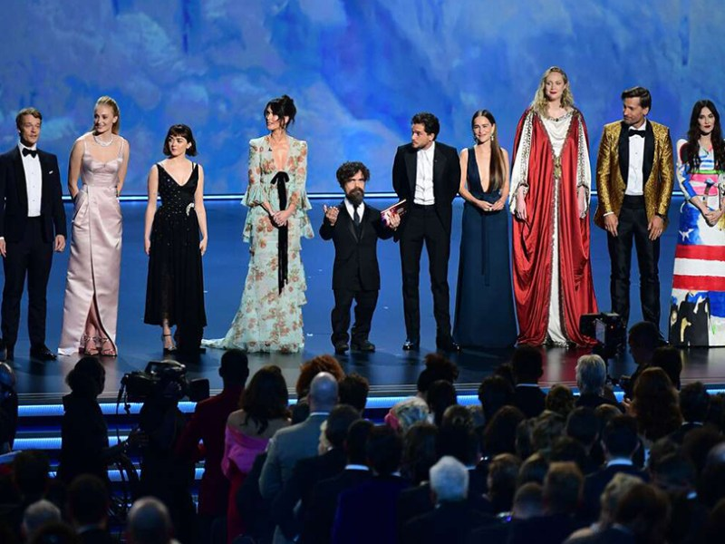 'Game of Thrones' wins top Emmy for best drama