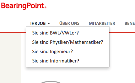 Button Ihr Job