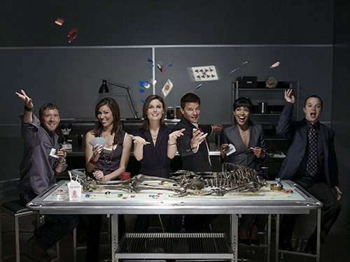 Immagine promozionale di Bones stagione 3