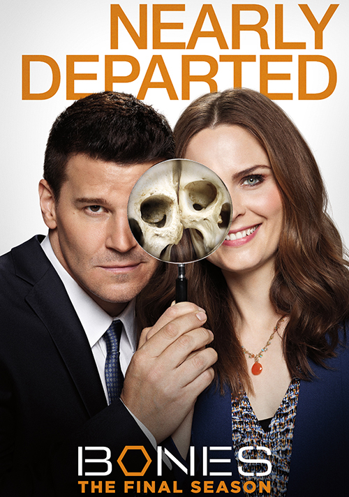 poster Bones stagione 12 nearly departed