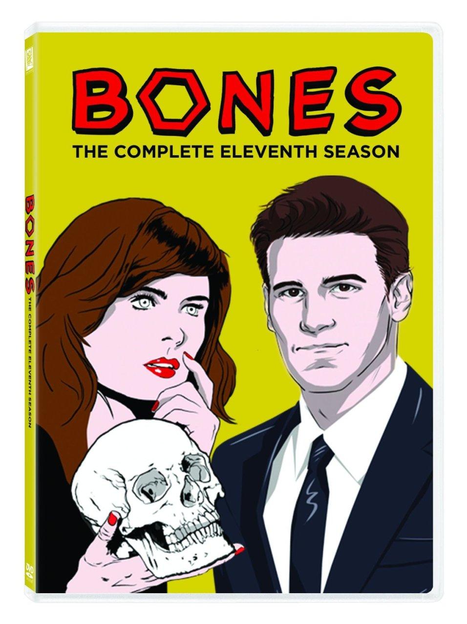copertina dvd americani Bones 11