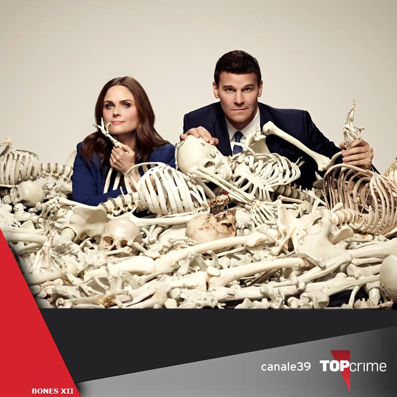 promo Bones stagione 12 su Top Crime