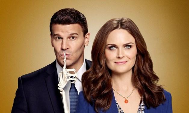 img promo della stagione 12 di Bones con Booth e Brennan