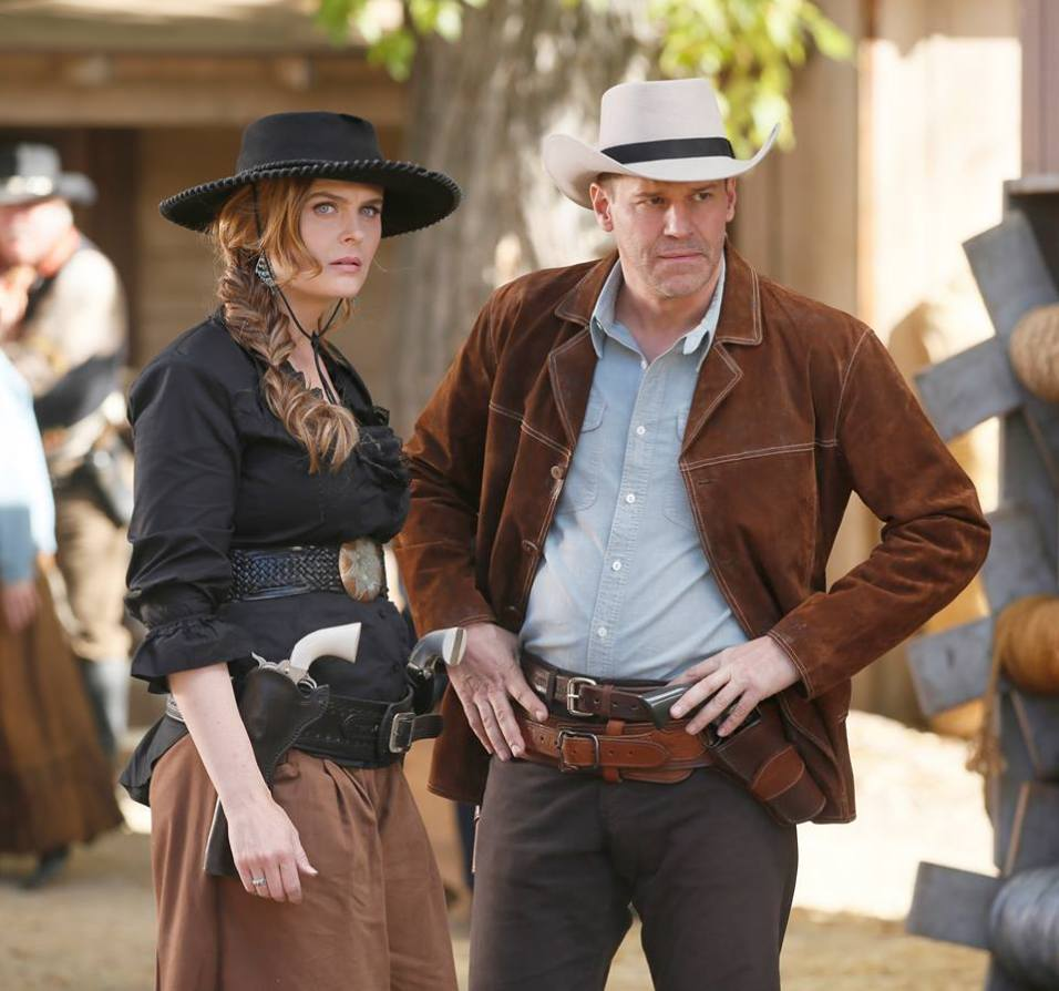 Bones: Booth e Brennan cowboy nel vecchio West