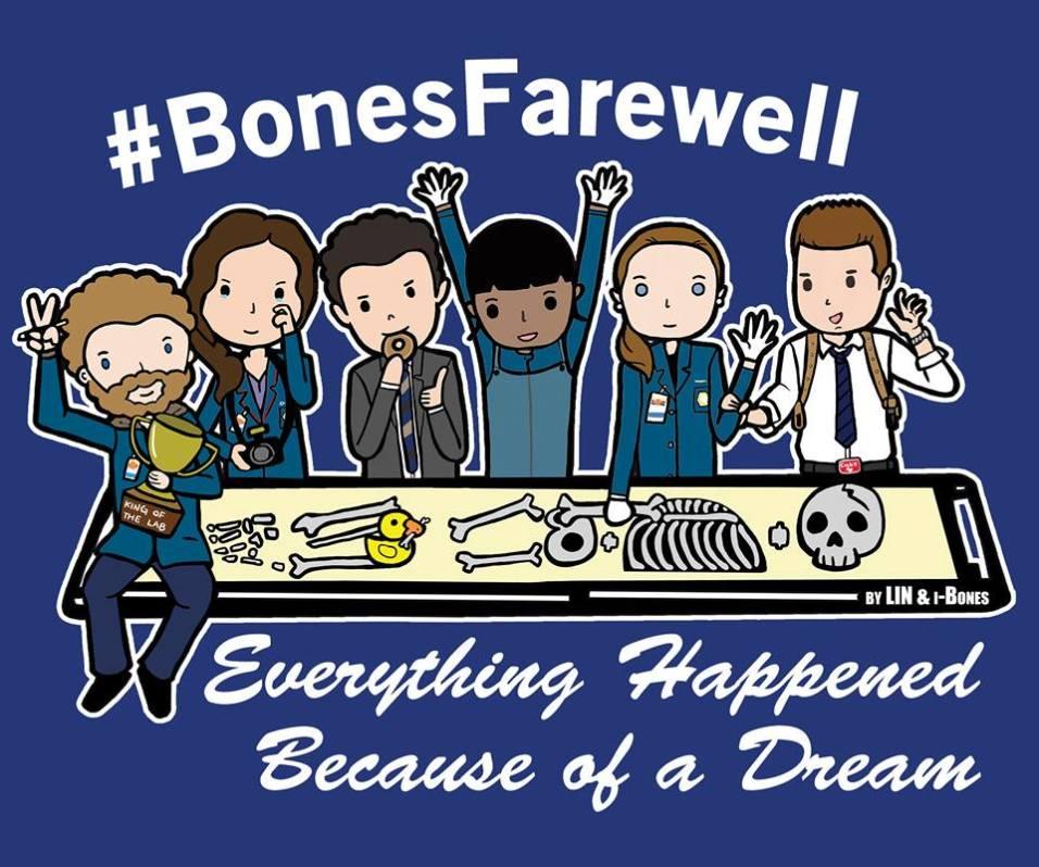 Bones Farewell Campaign logo
