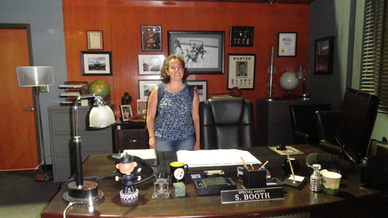 Set ufficio di Seeley Booth all'FBI