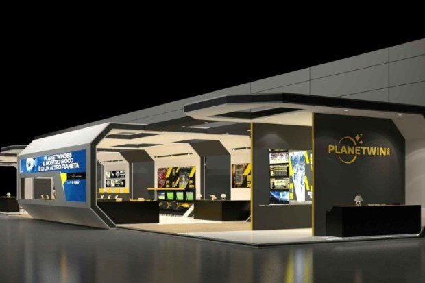 planetwin365-stand Planetwin365: renewed identity and enhanced values presented at Enada Primavera