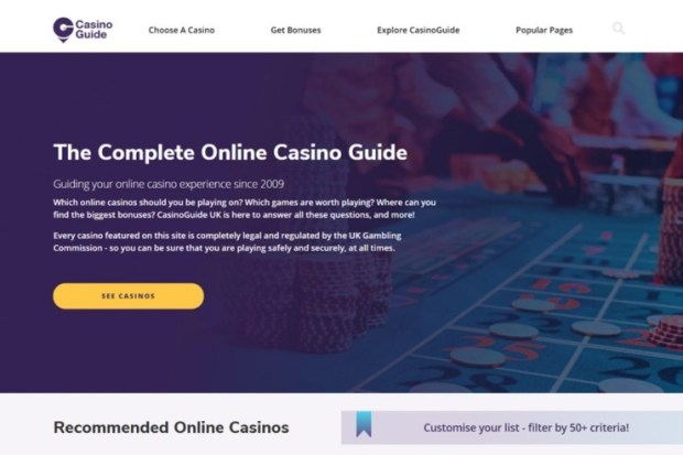 CasinoGuide-relaunches CasinoGuide relaunches for the second time in less than a year