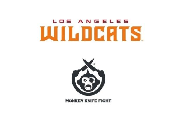 la-wildcats-monkey-knife-fight XFL LA Wildcats And Monkey Knife Fight Announce Marketing Partnership